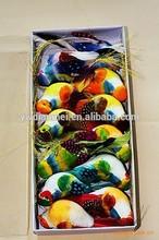 hot sale wedding decoration artificial birds for crafts fridge magnet
