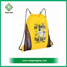 2016 new sport style durable 12oz nylon drawstring mesh bag
