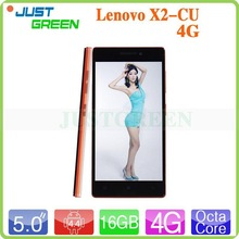 New Release! Lenovo X2-CU 5inch Retina Octa Core 2.0Ghz 16GB android 4.4 Wifi phone mobile china mobile phone in stock