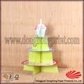 Papel ecológico Ali Express, Suporte personalizado de tres niveles para pastel de bodas