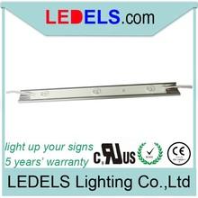 outdoor sign light box lighting, 24v 3.6w 360lm UL certified listed white led module strips bar