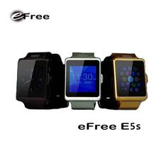 New eFree E5s fashion HD IPS screen gsm gps wrist watch phone