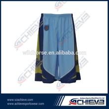 Teams basketball men shorts wholesale direct from china