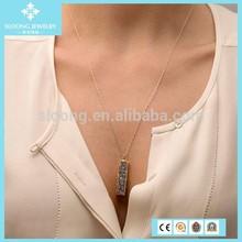 2015 New Trend Elegant Wholesale Fashion Druzy Pendant Necklace