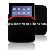 Black polyester conference bag / notebook bag