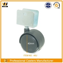 U BKT DUAL CASTER Twin Wheel U-Bracket Caster