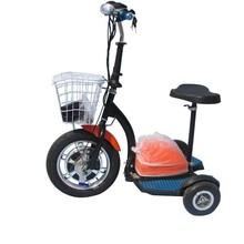 500W disabled three wheel bike, electric three wheel scooter, electric zappy 3 pro flex 3 wheel scooter