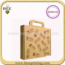 Innovation CD Carton Cardboard Counter top packaging Box Eco friendly Corrugated Carton Box