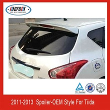CAR WINDOW SPOILER ROOF FOR NISSAN TIIDA 2011-2013