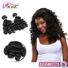 XBL New Arrival Top 5A+ Virgin Human Hair Unprocessed Peruvian Hair Extensions