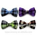 2015 china alibaba decoração personalizada dos homens de xadrez bow tie