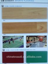 CBM Mart pvc vinyl basketball flooring/pvc sports sheets black