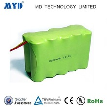 12v 2.2ah Nimh AA recargeable battery pack with oem service