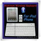 2015 Newest 80 Keys Aluminum Mini Bluetooth Wireless Keyboard For Tablet PC/Mobilephone