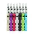 Arc en ciel coloré cigarette électronique Kamry x8J ecig avec verre pointe de goutte à goutte, Vv mod x8J
