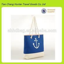 Reusable Beach shopping bag with anchor logo