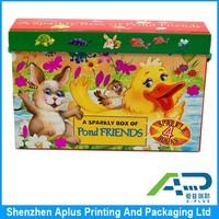 hign quality children game box, best selling set box, New year gift box