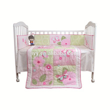 2015 pure cotton kid sheet bedding full bed Guangzhou stain dobby quilted comforter