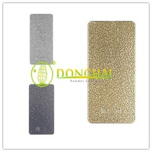 High quality solid non toxic gold artistic powder coating
