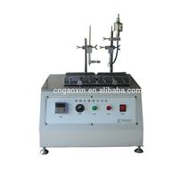 plastic laboratory equipment alcohol friction testing machine