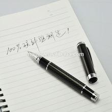 Premium pen with carbon fiber barrel metal body ballpoint pens