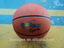 Mini rubber basketball/toy basketball/gift basketball