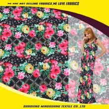China digital print manufacturer available custom printed fabric