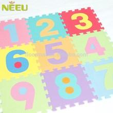 [NEEU]eva number 3d puzzle floor mat kids' intelligent toys