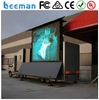 led truck/ mobile led advertising vehicles/ movable led display truck Leeman 2015 outdoor p12 mobile truck led screen