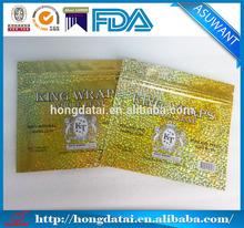 Wholesale golden virginia tobacco bag/tobacco leaves packaging