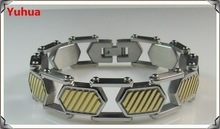 Japanese Jewelry 4 in 1 Bio Germanium Titanium Therapy Magnetic Bracelet(YHBR-051)