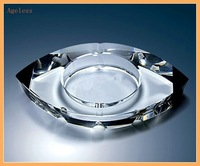 Personalized Crystal Glass ashtray Wholesale