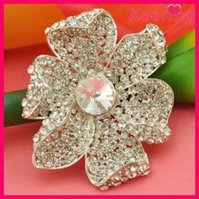 wholesale jewelry crystal rhinestone flower brooch for wedding in bulk WBR-1303