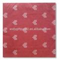 padrão de tecido do guardanapo tamanho para casamento