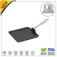 Pressed Aluminum Non-stick Ceramic/Marble Coating/ Square Frying Pan