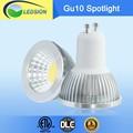 220 24 voltios voltios 6000k regulable 3 años de garantía cob bombilla led de luz gu10