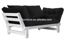 Fabric sleeping sofa bed/ floding sofa bed/dining room sofa bed