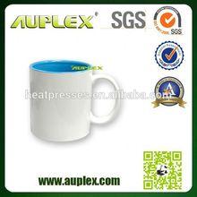 11oz top grade sublimation glass beer mug