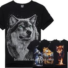 Custom Animal 3D T-Shirt & 3D T Shirt & 3D Printing T Shirt Wholesale China