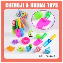 soft animal set 11pcs pet vinyl toy