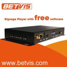 Dedicated bus digital signage player 3g wifi wireless network