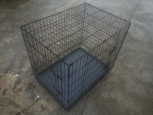 china double doors cheap large welded wire mesh dog trap cage