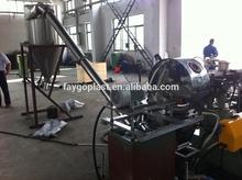 hard granules pvc granulating machi