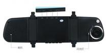 China manufacturer Chelong Dual lens night vision widescreen camera car electronics