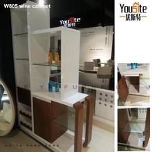 modern design glass wine cabinet