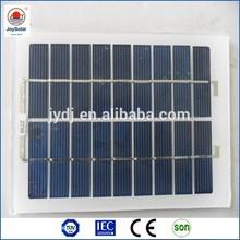 5v 6v 9v 12V 2w 5w mini solar panel manufacturers