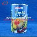 425ml cocktail de fruta enlatada no xarope de luz chinês fabricante de alimentos enlatados