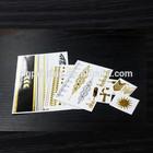 customized Metallic Tattoo Jewelry_Fake gold and silver Jewerly