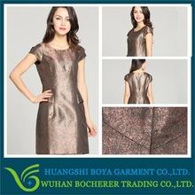 2014 new artwork design beauty grace ladies fashion dress of 2012