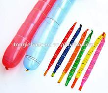 Rocket balloon made in china latex balloon